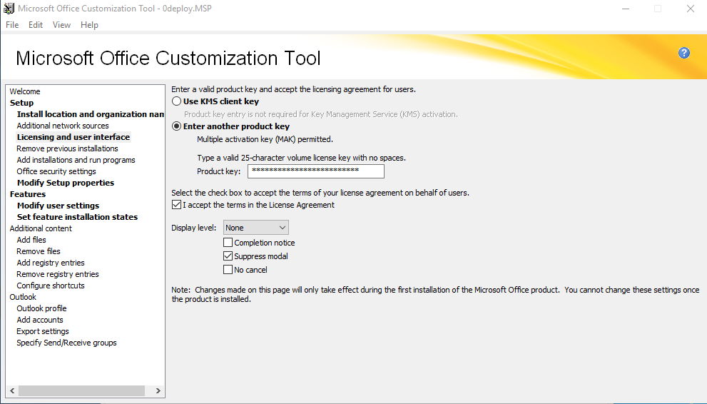MS Office Customization Tools